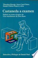 Libro de Castaneda A Examen