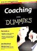 Libro de Coaching Para Dummies