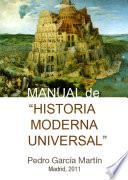 Libro de Manual De Historia Moderna Universal