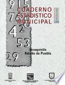 Libro de Ixcaquixtla Estado De Puebla. Cuaderno Estadístico Municipal 1998