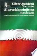 Libro de El Presidencialismo Mexicano