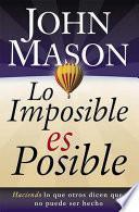 Libro de Lo Imposible Es Posible