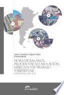 Libro de Hora De Balance: Proceso De Acumulación, Mercado De Trabajo Y Bienestar