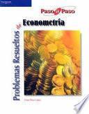 Libro de Problemas Resueltos De Econometría