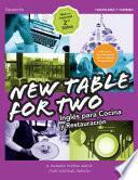 Libro de New Table For Two. Inglés Para Cocina Y Restauración 2.a Edición