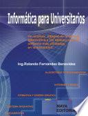 Libro de Introducción Al Estudio De La Informática