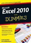 Libro de Excel 2010 Para Dummies