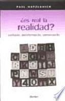 Libro de ¿es Real La Realidad?