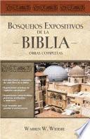 Libro de Bosquejos Expositivos De La Biblia 5 Tomos En 1