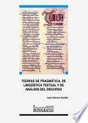 Libro de Teorías De Pragmática, De Lingüística Textual Y De Análisis Del Discurso