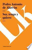 Libro de Soy, Tengo Y Quiero