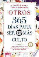 Libro de Otros 365 Días Para Ser Más Culto