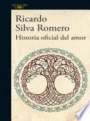 Libro de Historia Oficial Del Amor