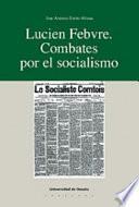 Libro de Lucien Febvre