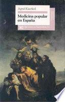 Libro de Medicina Popular En España