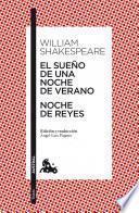 Libro de El Sueño De Una Noche De Verano / Noche De Reyes