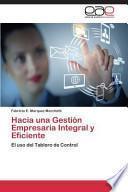 Libro de Hacia Una Gestion Empresaria Integral Y Eficiente