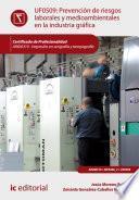 Libro de Prevención De Riesgos Laborales Y Medioambientales En La Industria Gráfica. Argi0310