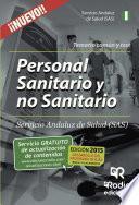 Libro de Personal Sanitario Y No Sanitario Del Servicio Andaluz De Salud. Temario Común Y Test