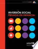 Libro de Inversión Social Privada En Infancia.