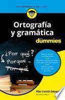 Libro de Ortografía Y Gramática Para Dummies