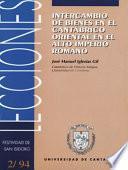 Libro de Intercambio De Bienes En El Cantábrico Oriental En El Alto Imperio Romano