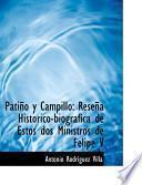 Libro de Patino Y Campillo