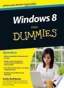 Libro de Windows 8 Para Dummies