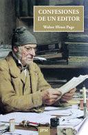 Libro de Confesiones De Un Editor