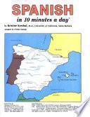 Libro de Spanish In 10 Minutes A Day