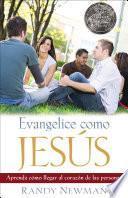 Libro de Evangelice Como Jesús