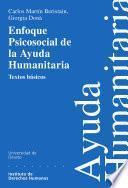 Libro de Enfoque Psicosocial De La Ayuda Humanitaria
