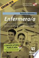 Libro de Enfermero/a. Temario. Volumen 3. Servicio De Salud De Castilla Y León