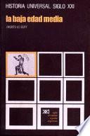 Libro de La Baja Edad Media