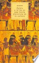 Libro de Egipto A La Luz De Una Teoría Pluralista De La Cultura