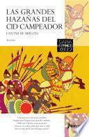 Libro de Las Grandes HazaÑlas Del Cid Campeador   Cantar De Mio Cid