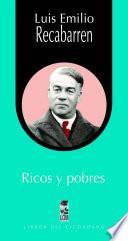 Libro de Ricos Y Pobres