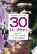 Libro de 30 Orquídeas