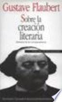 Libro de Sobre La Creación Literaria