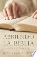Libro de Abriendo La Biblia