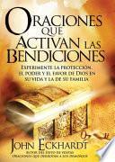 Libro de Oraciones Que Activan Las Bendiciones