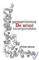 Libro de Pensamientos De Amor Incomprendidos