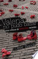 Libro de Valeria No Pudo Bailar