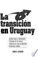 Libro de La Transición En Uruguay