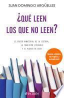 Libro de ¿qué Leen Los Que No Leen?