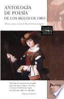 Libro de Antologia De Poesia De Los Siglos De Oro EspaÑola