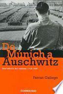Libro de De Munich A Auschwitz