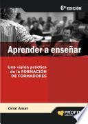 Libro de Aprender A Enseñar