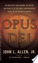 Libro de Opus Dei