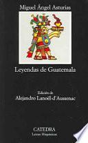 Libro de Leyendas De Guatemala